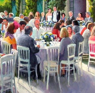 The Wedding detail by Liza Hirst
