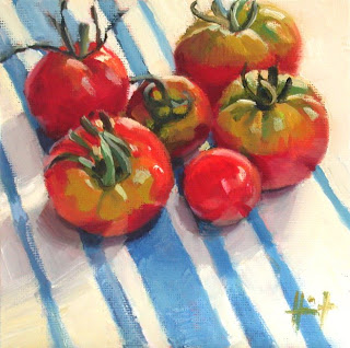 Tomates du Pays by Liza Hirst