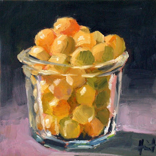 Yellow Plums by Liza Hirst