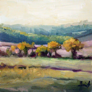 Autumn Fields by Liza Hirst