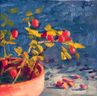Rose Hips by Liza Hirst