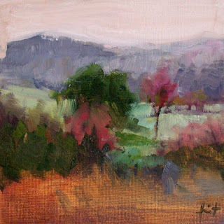 Cold Morning in Autumn by Liza Hirst