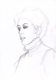 Vittoria, head study by Liza Hirst