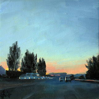 Early to Bordeaux by Liza Hirst