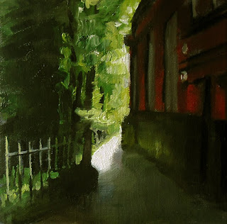 St.Mary's Path by Liza Hirst