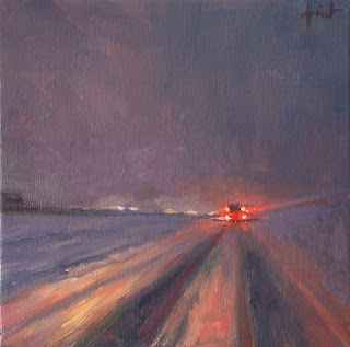 Through Snow by Liza Hirst