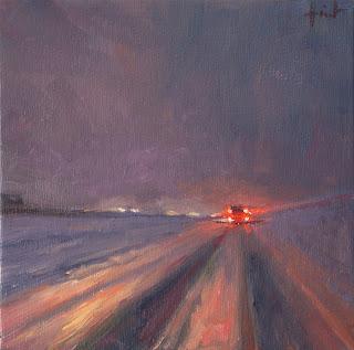 Through Snow by Liza Hirst