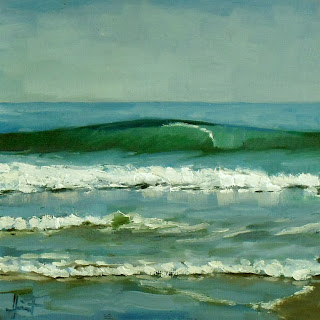 Green Wave by Liza Hirst