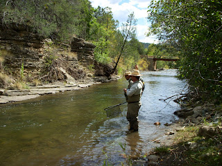Texas fly fishing school blog fly fishing on the pecos for Pecos new mexico fishing