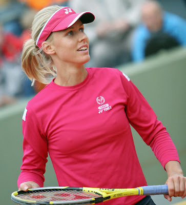 Elena Dementieva Hot Red Sexy Picture
