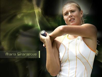 Top Tennis player Maria Sharapova Gallery