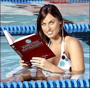Olympic swimmer hot Amanda Beard Wallpaper
