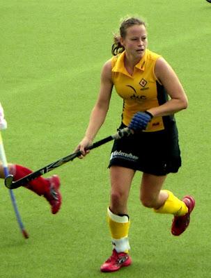 Top Hockey Girl Anke Kuhn Wallpaper