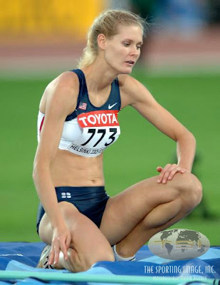 Amy Acuff High Jump Player Hot Wallpaper