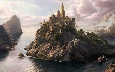 Ancient Castle Free Desktop Wallpaper