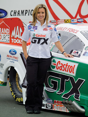 Ashley Force top Car racer Wallpaper