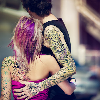 Shows great appeal for girls and women; It will never … Half Sleeve Tattoos.