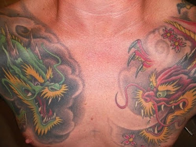 Japanese Tattoo Dragon Style