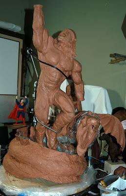 Thor midgard serpent art