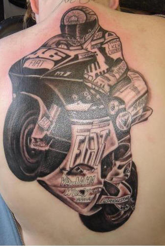 the syster designs valentino rossi tattoo. Black Bedroom Furniture Sets. Home Design Ideas