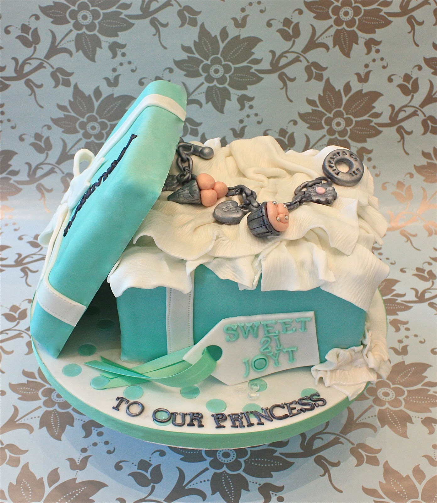 Charmed By Tiffany Cake