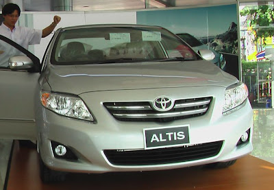 2008 Toyota Corolla Altis on sale now in Thailand