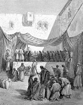The Wedding at Cana by Gustave Dore - John 2:1-12