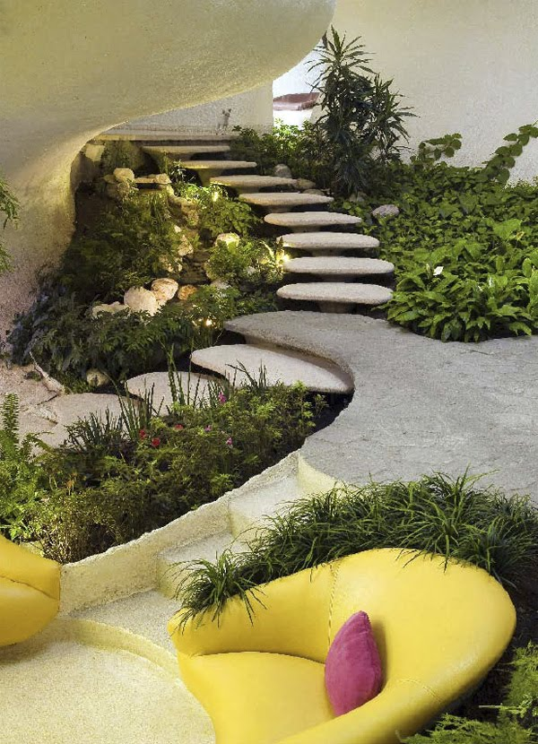 Javier senosiain nautilus house modern design by for Nautilus garden designs