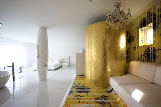 Interior Design Ideas Luxurious  by Marcel Wander