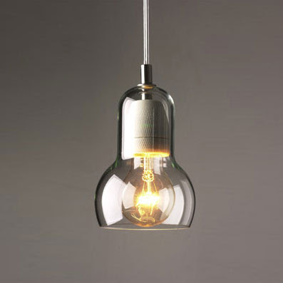 This modern design glass pendant lamp was designed by Sofie Refer for Unique