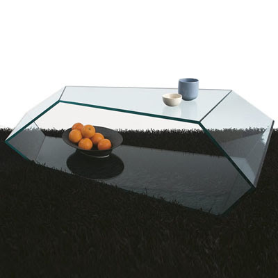 Glass Table on Modern Glass Coffee Table By Karim Rashid