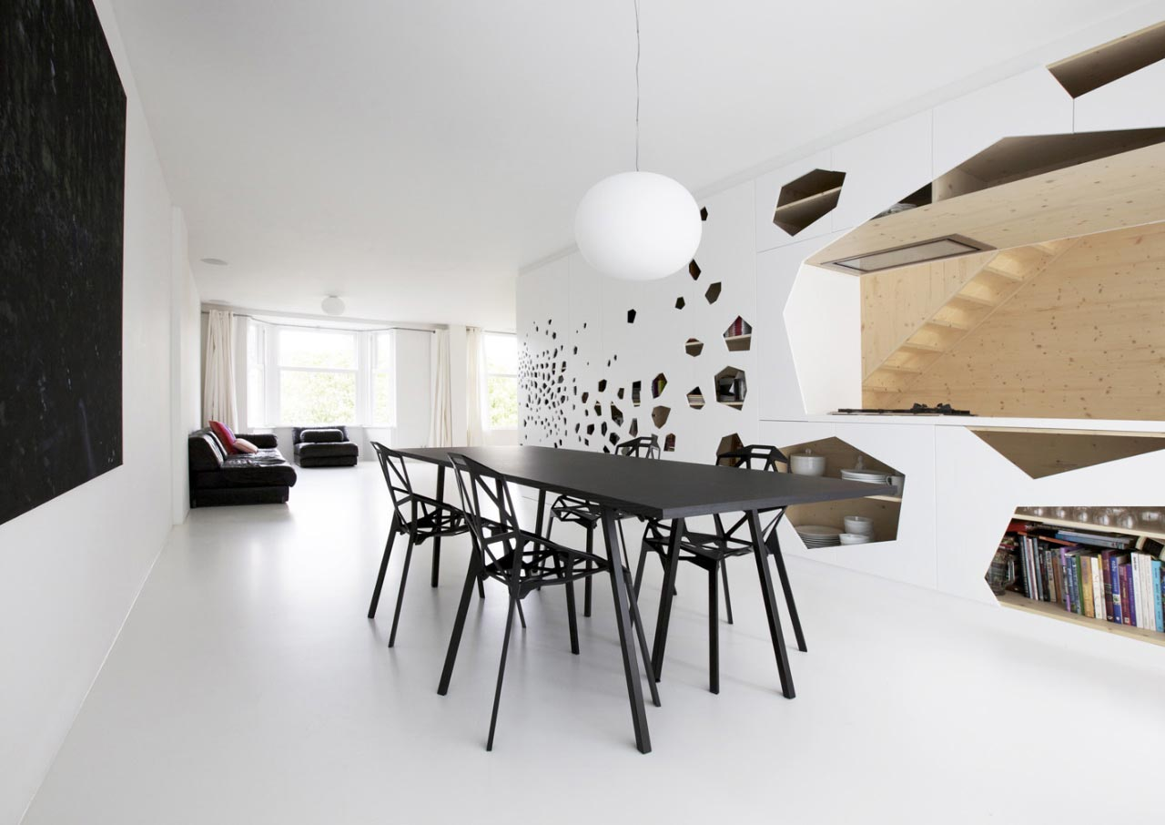 Minimal interior amsterdam modern design by for Interior design amsterdam