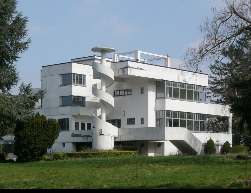 Forgotten modernist architecture modern design by for Style architectural moderne