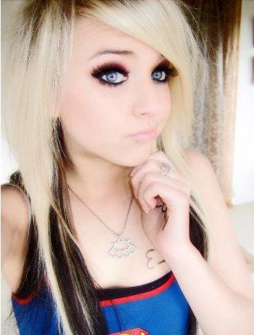 Pretty Emo Blonde 50