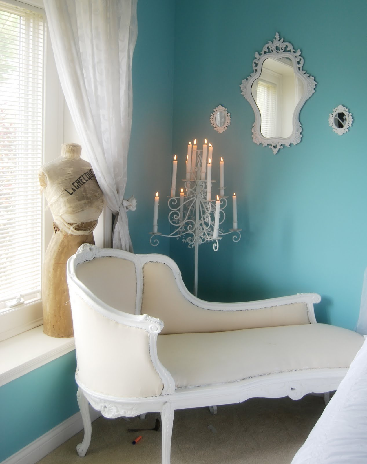 inspired by you french chaise redo. Black Bedroom Furniture Sets. Home Design Ideas