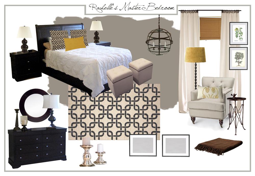 Hirondelle Rustique Master Bedroom Mood Board Makeover