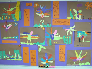 K5 Torn Paper Turkeys