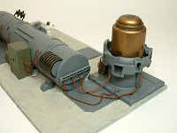 terrain mad science pulp power generator laboratory equipment warhammer 40k 25-30 mm science fiction miniatures
