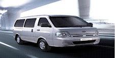 Van Pregio, 11 seater, RM350