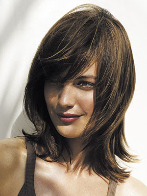 layered shaggy hairstyles. Sexy Medium Layered Shag