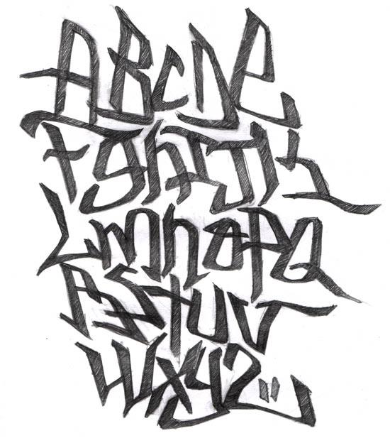 Draw Graffiti Letters:...