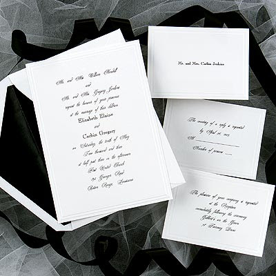complete wedding invitations