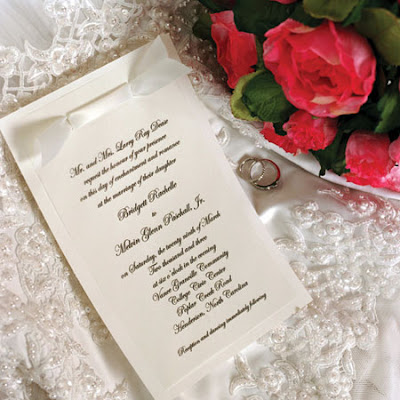 rose wedding invitations cards