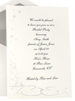 Wedding Invitation Sample With Wording Inspirations