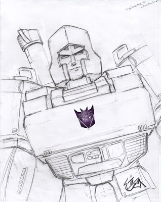 Transformer Coloring on Megatron Transformers Coloring Pages