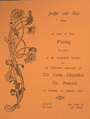 Orange Wedding Invitations With Flowers Ornaments