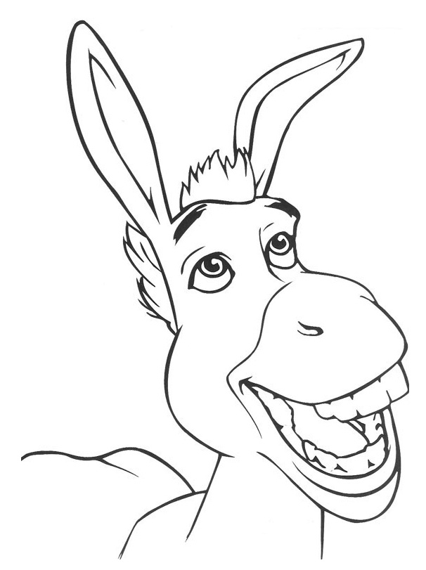 shreck coloring pages - photo#34