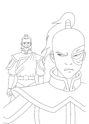 Avatar Coloring Pages photo