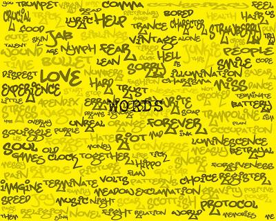 graffiti words design