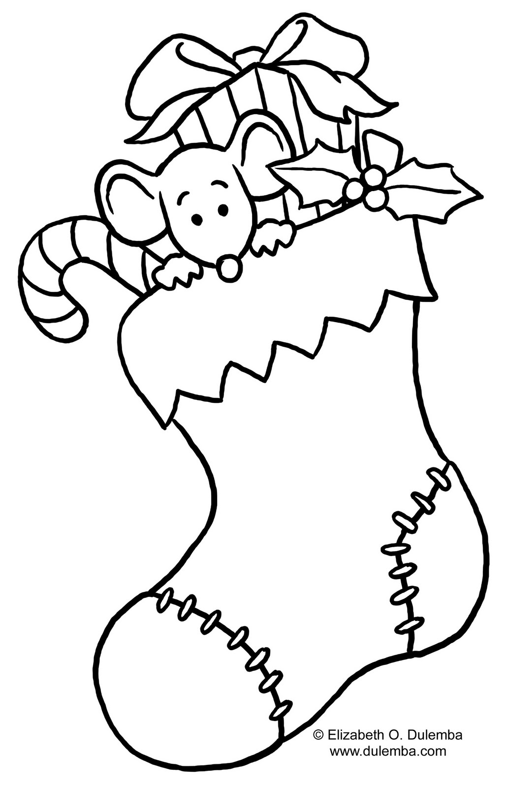 christmal coloring pages - photo#13